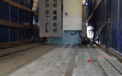 Plegadora hidráulica 380 destino Europa