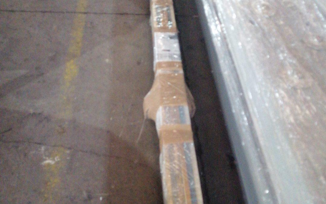 Salida de chuchillas para cizalla hidráulica Korpleg